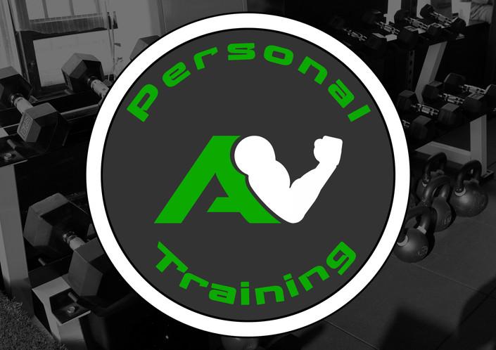AV Personal Training Logo Design