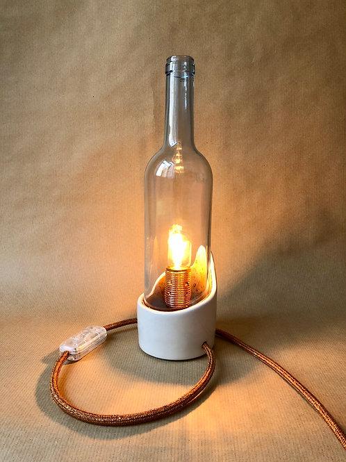 vinho lamp - blue/copper