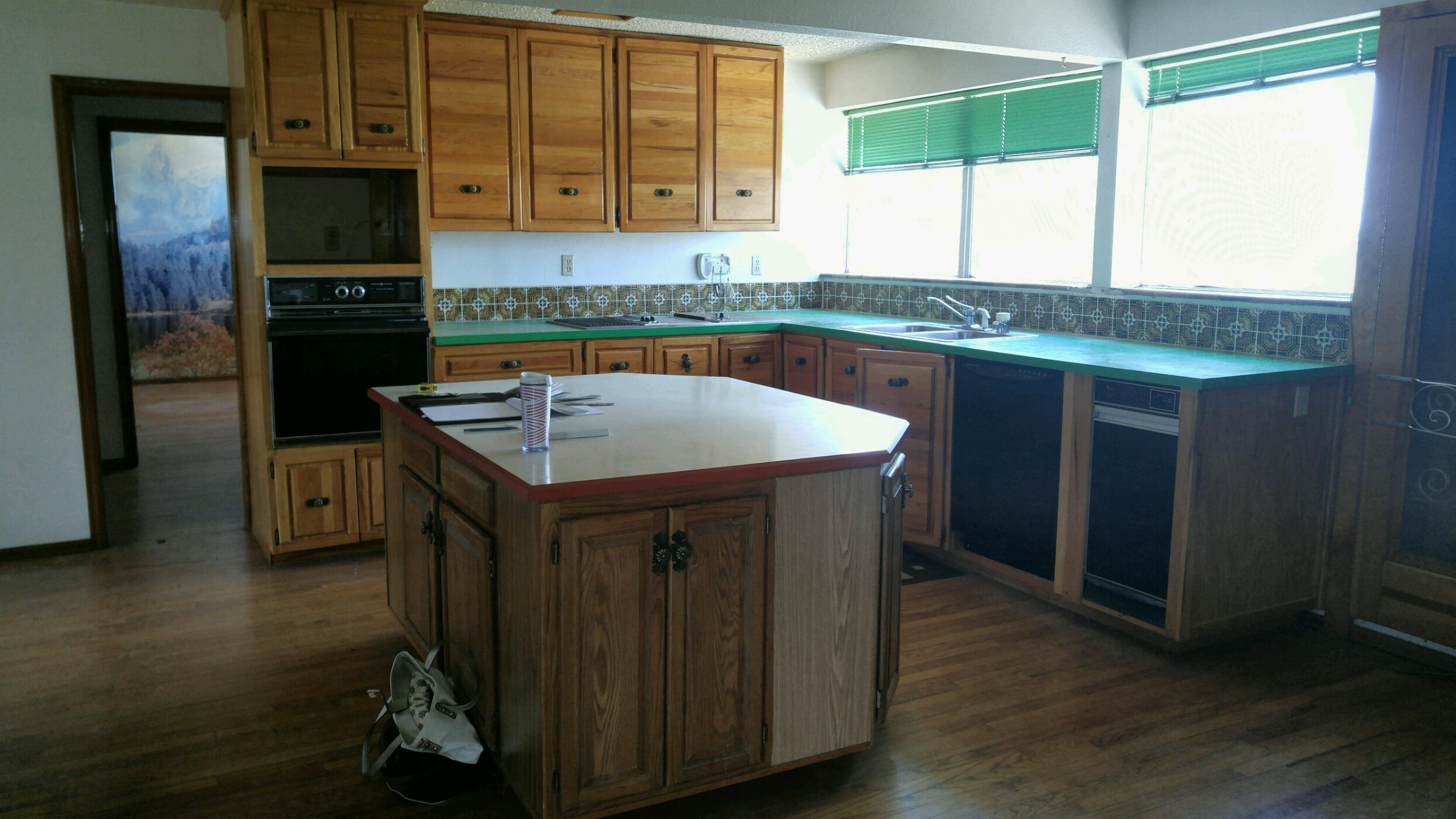 Schoolhouse Kitchen Before