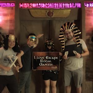 THE PHARAOH'S CURSE - The Hidden Passage Live Escape Room Games