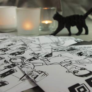 REVIEW: (Halloween) Survival Escape Training FROM clueQuest (Print + Cut + Escape)