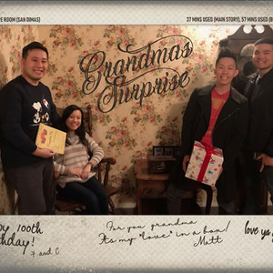 GRANDMA'S SURPRISE - Trapped! Escape Room | Review