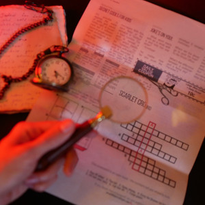 Chapter 1, Game 1 (Newspaper: Introduction To Mysteries) • Scarlet Envelope • Puzzle Mail Review