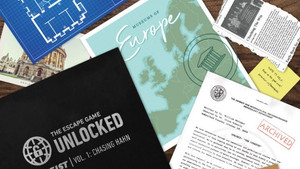 REVIEW: The Heist, Vol. 1: Chasing Hahn FROM The Escape Game: Unlocked