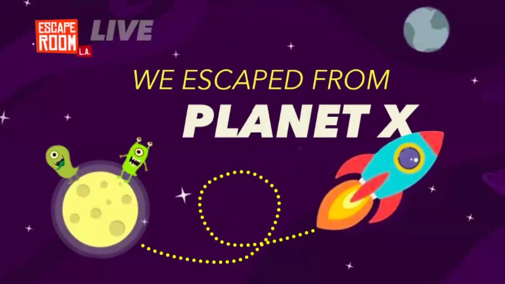 We Escaped From Planet X