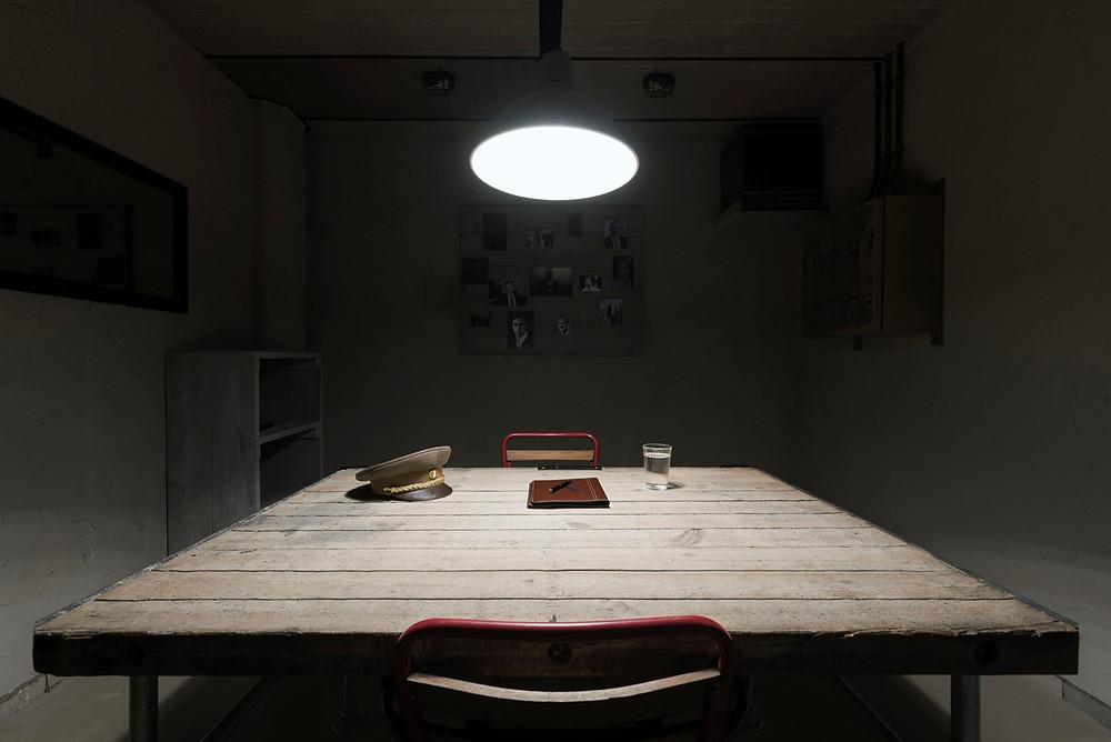 Interrogation Table