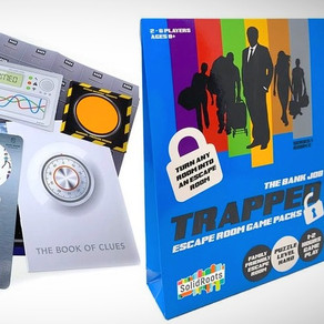 Review: Trapped Escape Room Game Packs: The Bank Job | The Fantastic Factory & SolidRoots