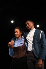 Ibrahim Traore as Laertes in Hamlet.