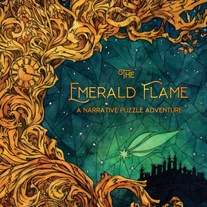 The Emerald Flame (Prototype Version) • PostCurious • Tabletop Narrative Puzzle Game Review