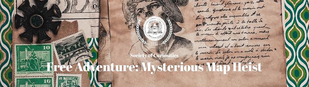Free Adventure: Mysterious Map Heist