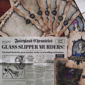 Review: The Cinderella Murders | The Fairy Tale Files By Society Of Curiosities