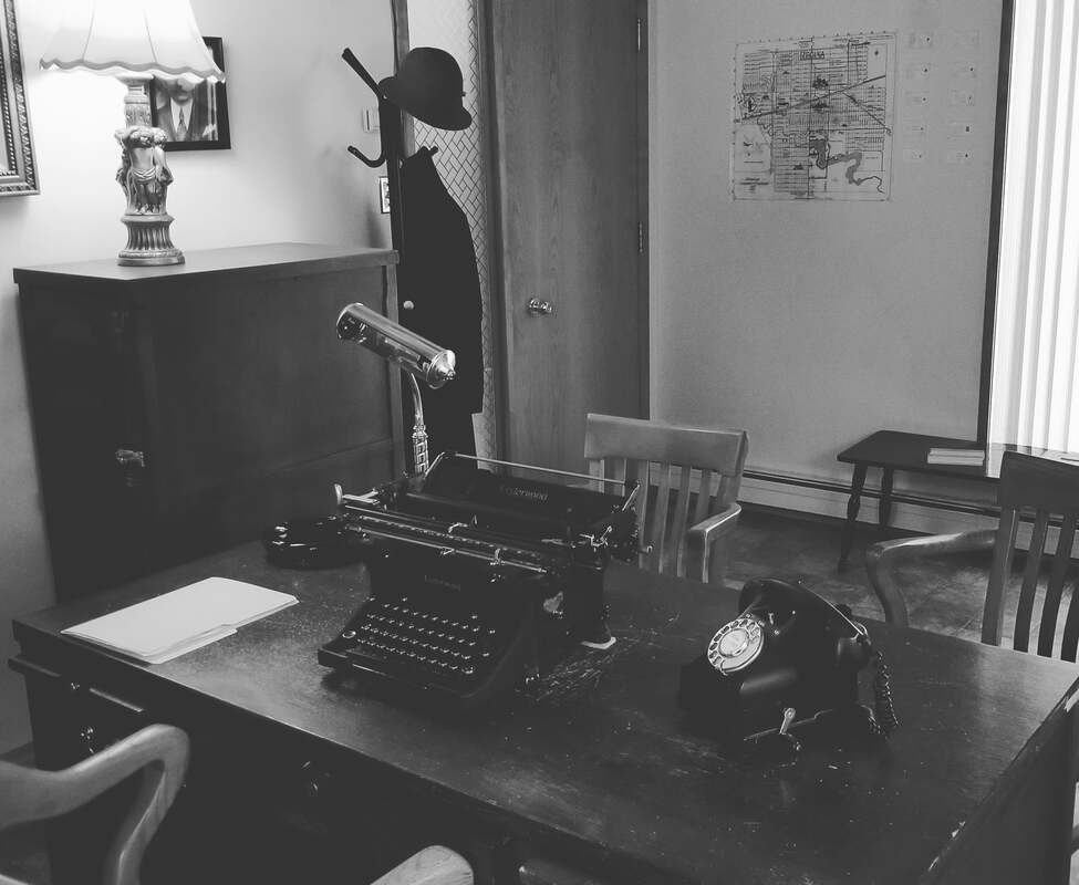 The Detective's Office