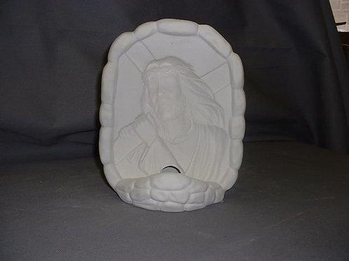 Christ with Cross Halogram