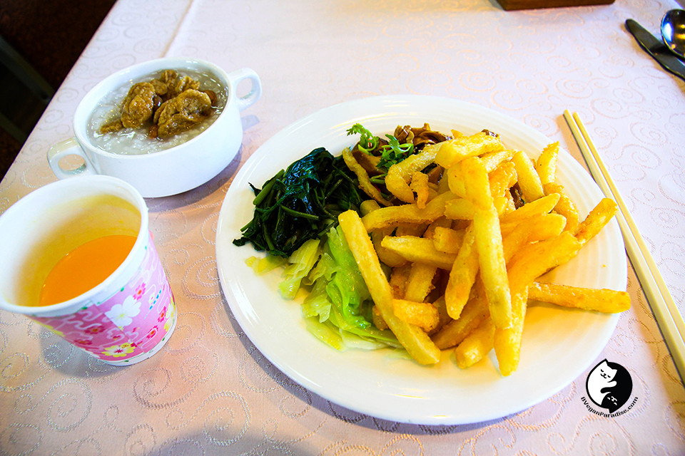 In Taiwan you can even have fries as breakfast.