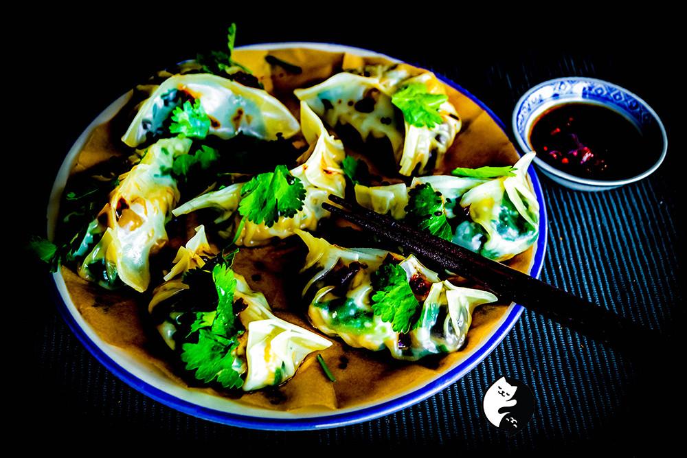 Can't wait to eat again these vegan dumplings. So satisfying.