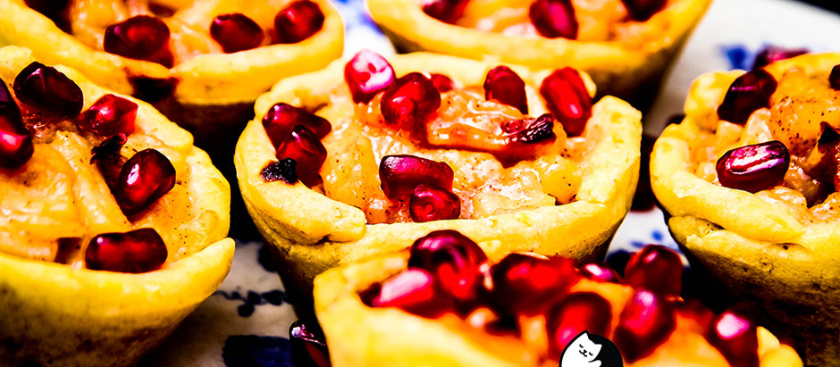 12 Mini Apple Pies
