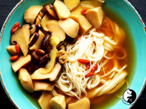 Sesame Oil Noodles