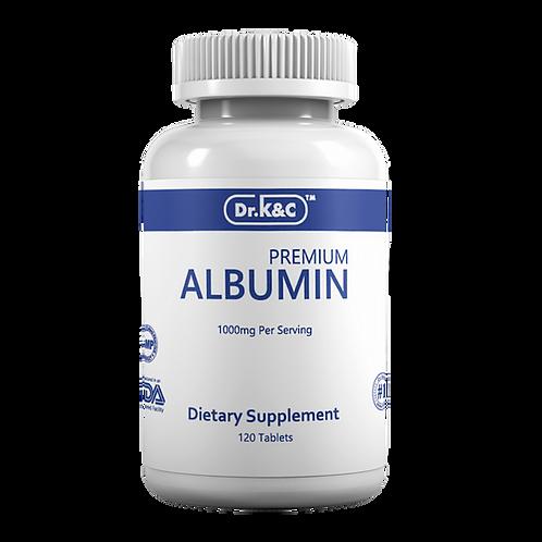Dr.K&C Premium Albumin 500mg, 120 Tablets