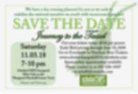journey to the tassel save the date