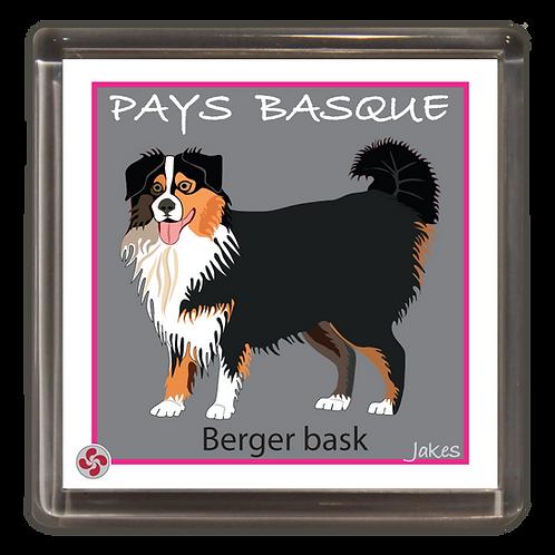 """""""Berger bask"""" Magnet"""