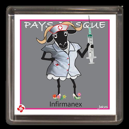 """Infirmanex"" Magnet"