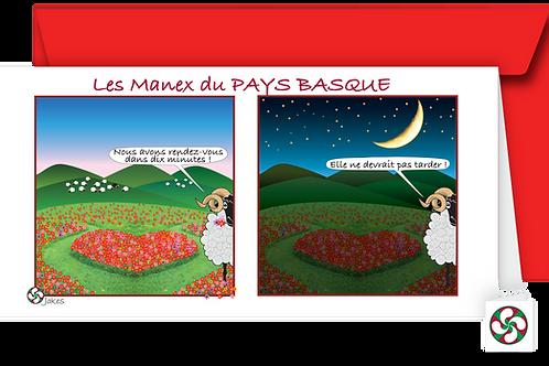 """""""Jour & Nuit"""" Carte panoramique"""