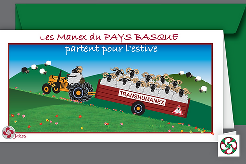 """Transhumance"" Carte panoramique"