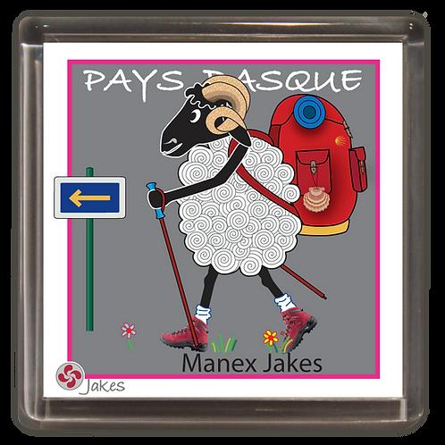 """Manex Jakes""  Magnet"