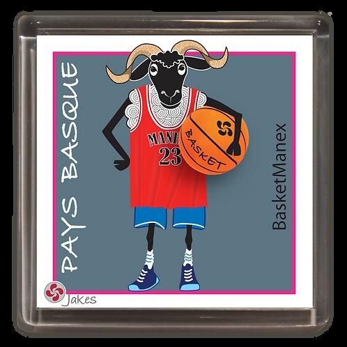 """""""Basketmanex""""  Magnet"""