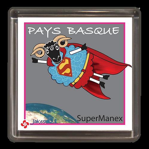 """Super Manex"" Magnet"