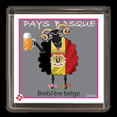 """Brebi'ère belge"" Magnet"