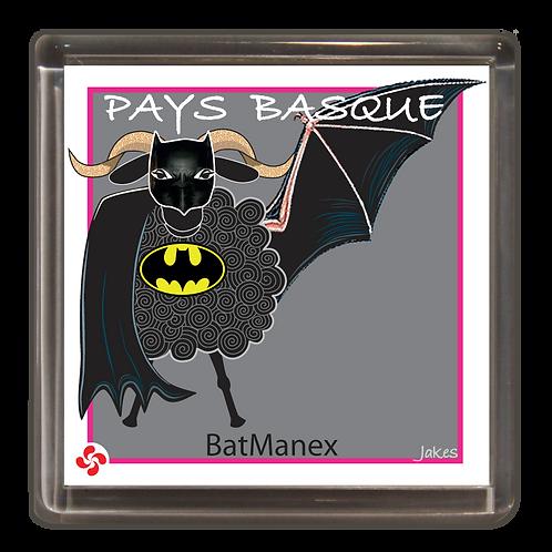 """BatManex"" Magnet"