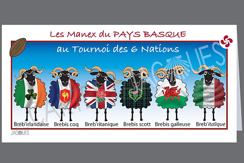 "carte panoramique ""Six Nations"""