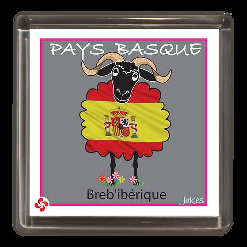 """""""Breb'ibérique"""" Magnet"""