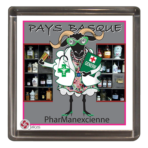 """PharManexcienne"" Magnet"