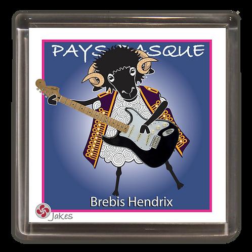 """""""Brebis Hendrix""""  Magnet"""