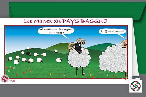 """""""Régime"""" Carte panoramique"""
