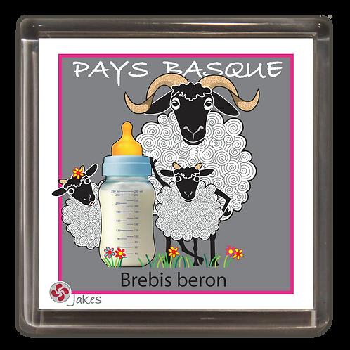 """Brebis beron"" Magnet"