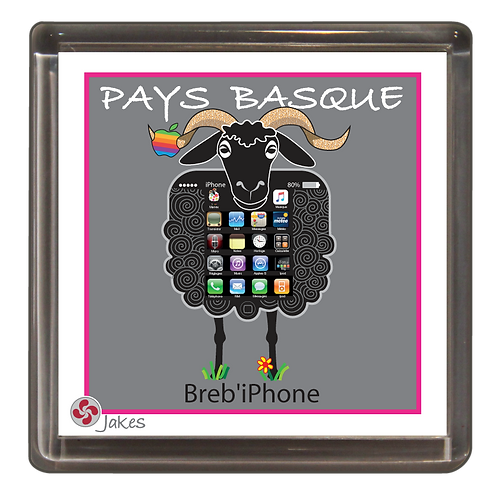 """Breb'iPhone"" Magnet"