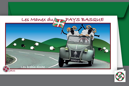 """Les Brebis doche"" Carte panoramique"