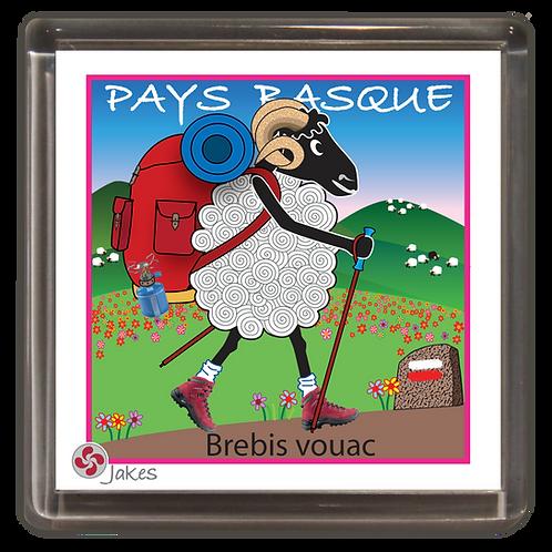 """""""Brebis vouac""""  Magnet"""