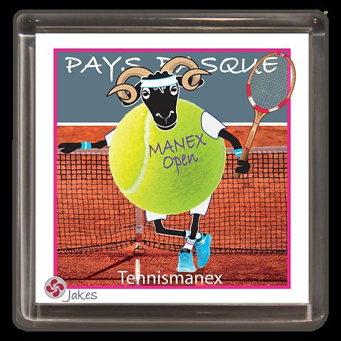 """""""Tennismanex""""  Magnet"""