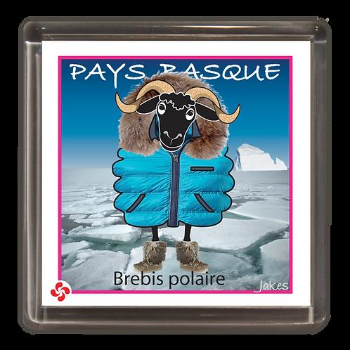"""Brebis polaire"" Magnet"