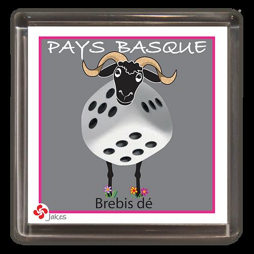 """""""Brebis dé"""" Magnet"""