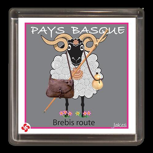 """""""Brebis route"""" Magnet"""