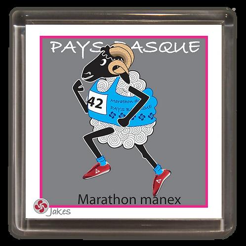 """Marathon manex"" Magnet"