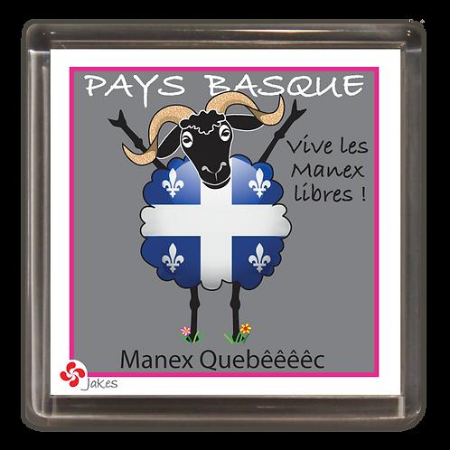 """""""Manex Quebêêêêc"""" Magnet"""