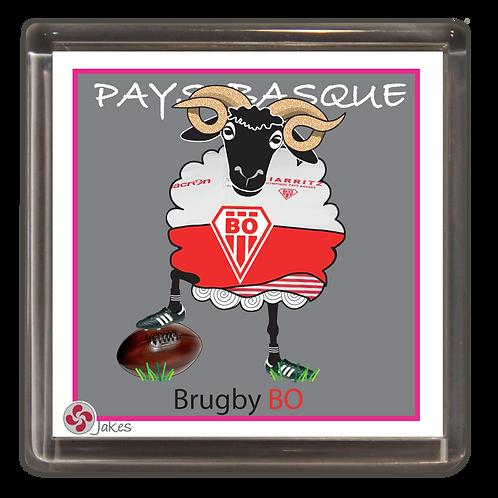 """Brugby BO"""" Magnet"""