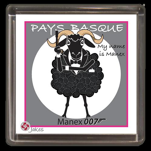 """Manex 007"" Magnet"