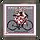 """Thumbnail: """"Brebis cyclette"""" maillot à pois Magnet"""